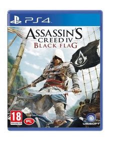 ASSASSIN'S CREED IV 4 BLACK FLAG PS4