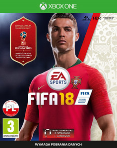 FIFA 18 2018 XBOX ONE PL + World Cup Russia