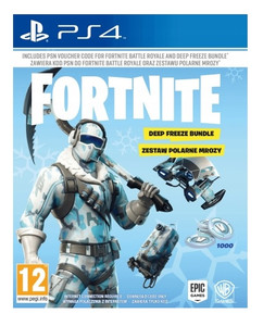 Fortnite Deep Freeze Bundle PL PS4