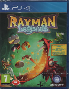 RAYMAN LEGENDS PS4 PO POLSKU PS4