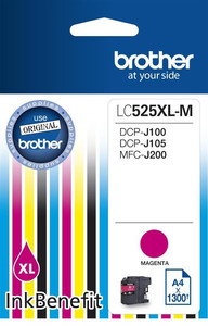 Tusz LC525XL M MAGENTA 1300 do DCP-J100 DCP-J105