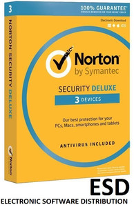 NORTON SECURITY Deluxe 3 PC MAC ANDROID Wersja elektroniczna