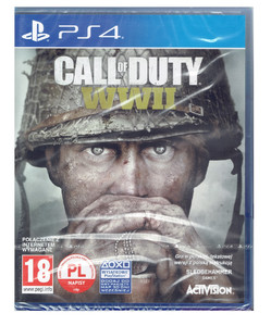 CALL OF DUTY WWII / COD / PL / PS4 Nowa Folia