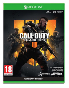 CALL OF DUTY BLACK OPS IIII 4 PL XBOX ONE Nowa Folia