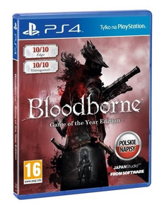 BLOODBORNE GOTY GAME OF THE YEAR PS4 PL
