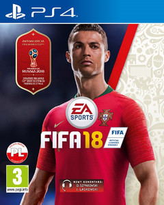 FIFA 18 2018 PS4 PL + World Cup Russia