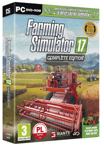 FARMING SIMULATOR SYMULATOR FARMY 17 COMPLETE EDITION