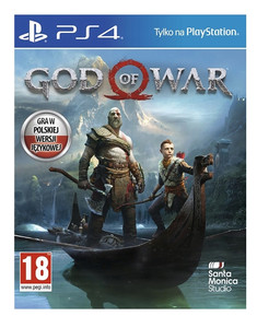 God of War PS4 PL - dubbing nowa folia