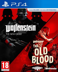 Wolfenstein The New Order + The Old Blood PL PS4