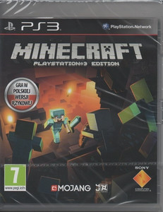 MINECRAFT PS3 PL