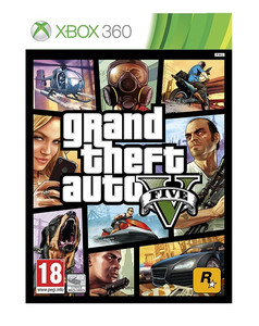 GTA V/GRAND THEFT AUTO 5 XBOX 360 PL