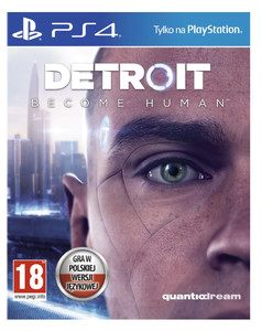 DETROIT BECOME HUMAN PS4 POLSKA nowa folia