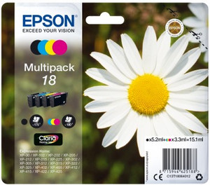Multipack T1806 CMYK 3x3.3ml+1x5.2ml do XP-30